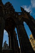 Sir Walter Scott and his monument