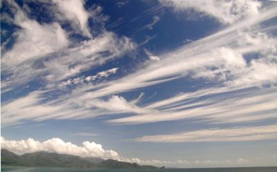 Sky off Queensland Coast